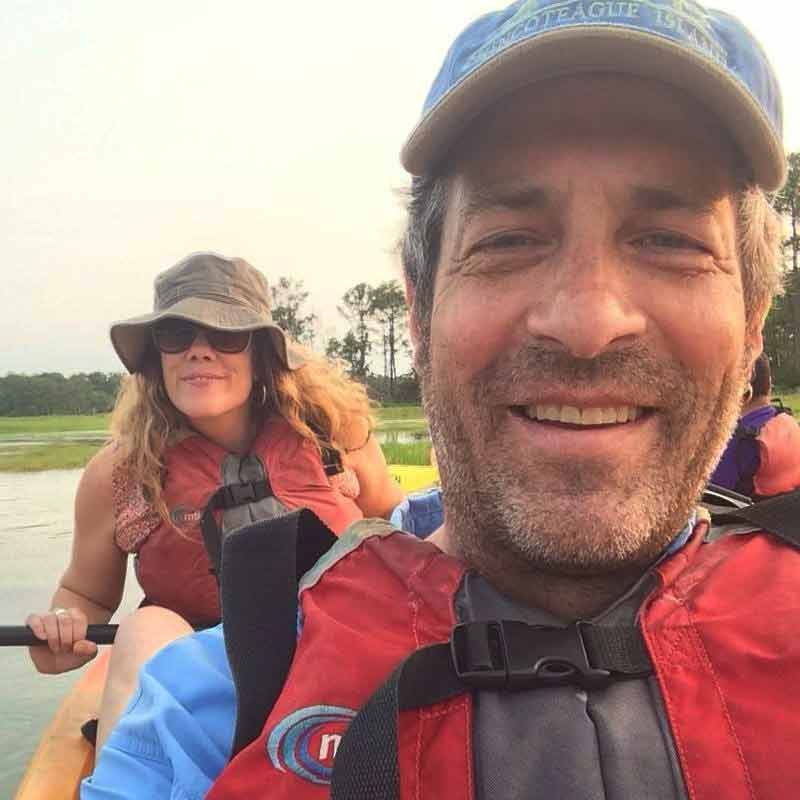 2017 shannon and terry kayaking at chincoteague