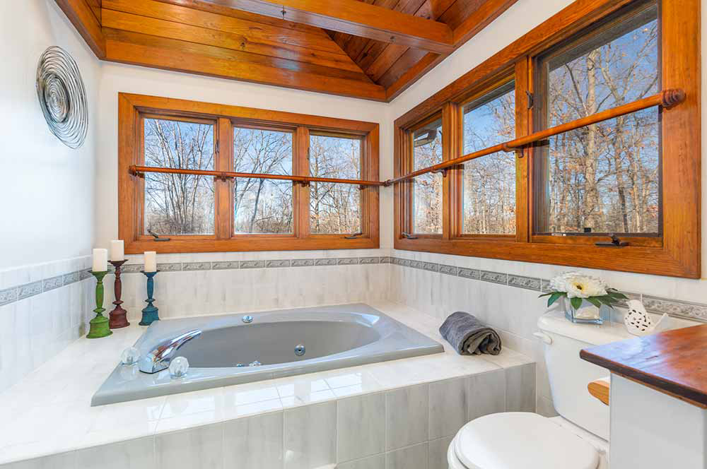 whippoorwill master bath jacuzzi and skylights