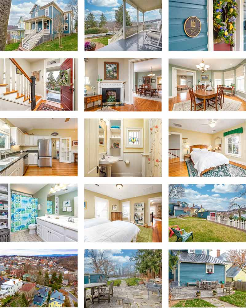 cotw those views! photo collage fayette st