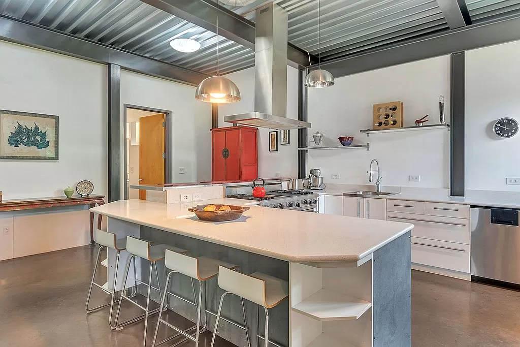 cotw modern coolness open kitchen