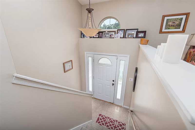 gorgeous in greenspring ritchie blvd foyer and stairs