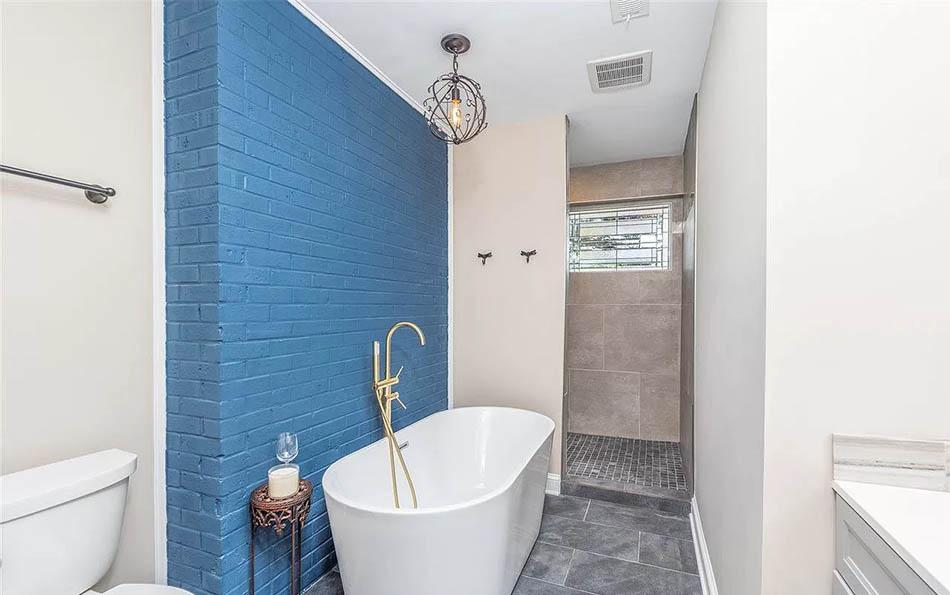 luxury in lyndhurst master bath with soaking tub and walk in shower