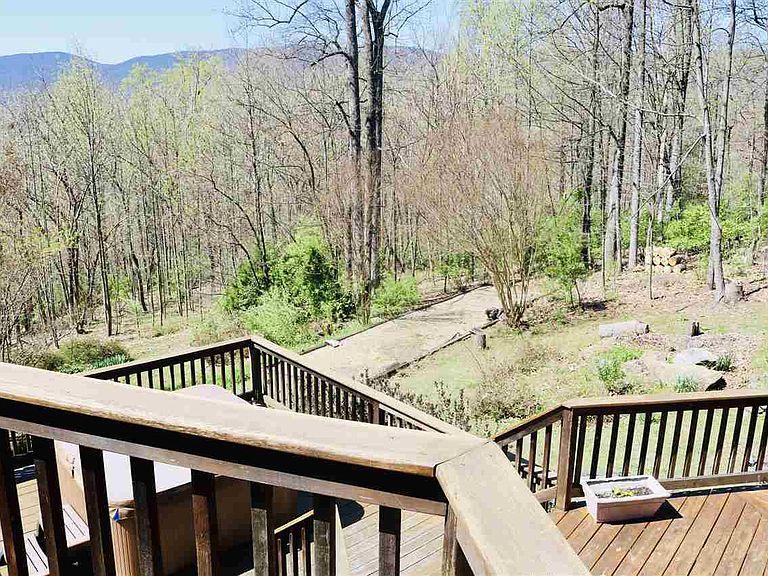 cotw around around, round top mountain view from the decks