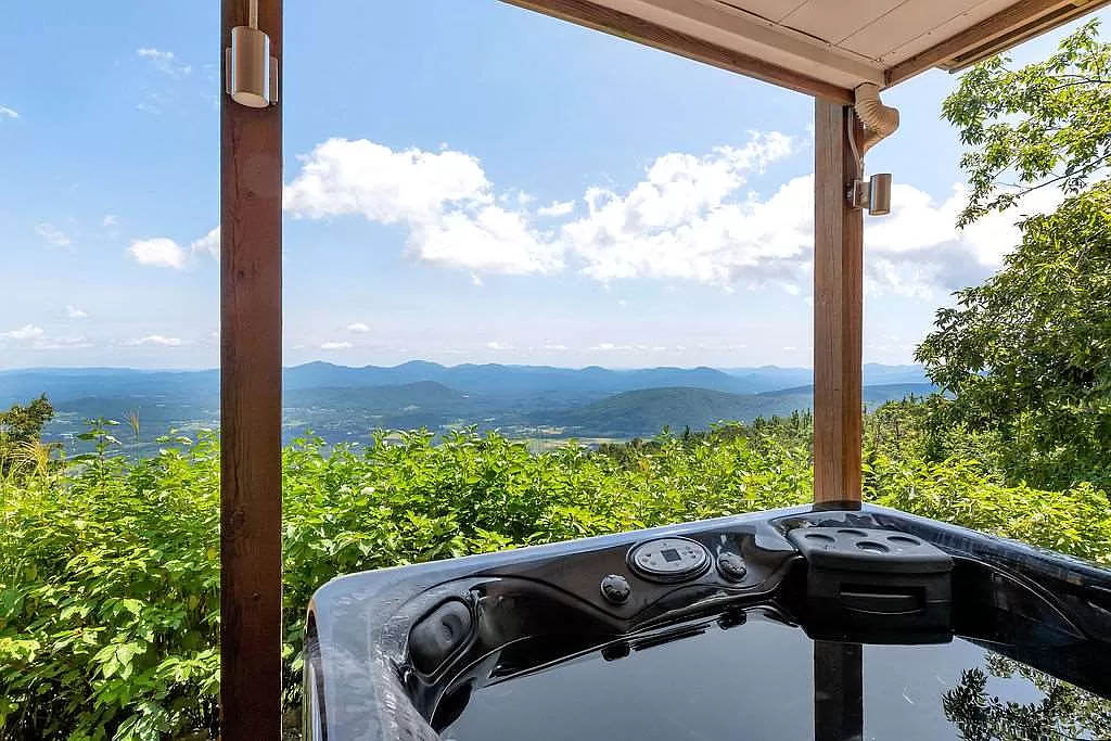 cotw mountain mama mia view of mountains from hot tub