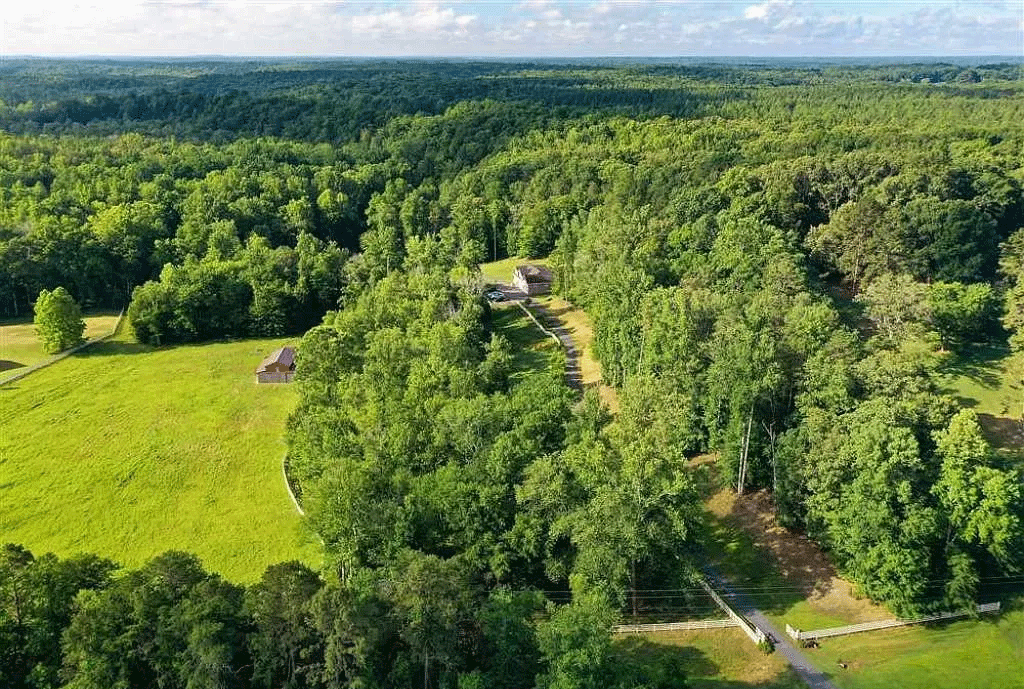 cotw victorian secret drone-shot-of-property-and-private-drive