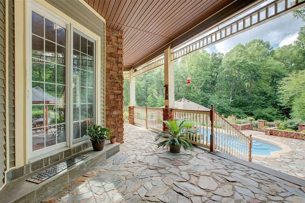 cotw victorian secret view-of-pool-from-stone-porch
