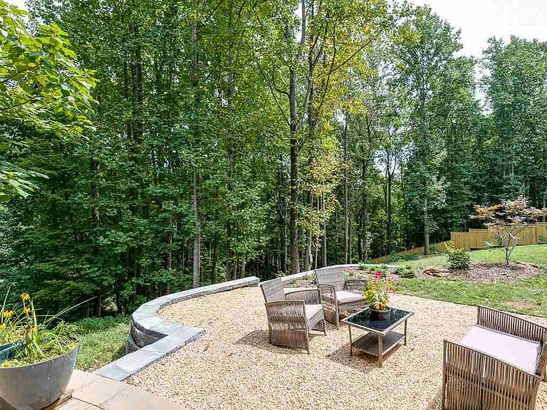 cotw welcome to the octagon backyard gravel patio