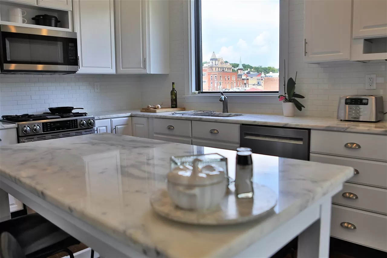 cotw take me to church st fkitchen with view of downtown staunton