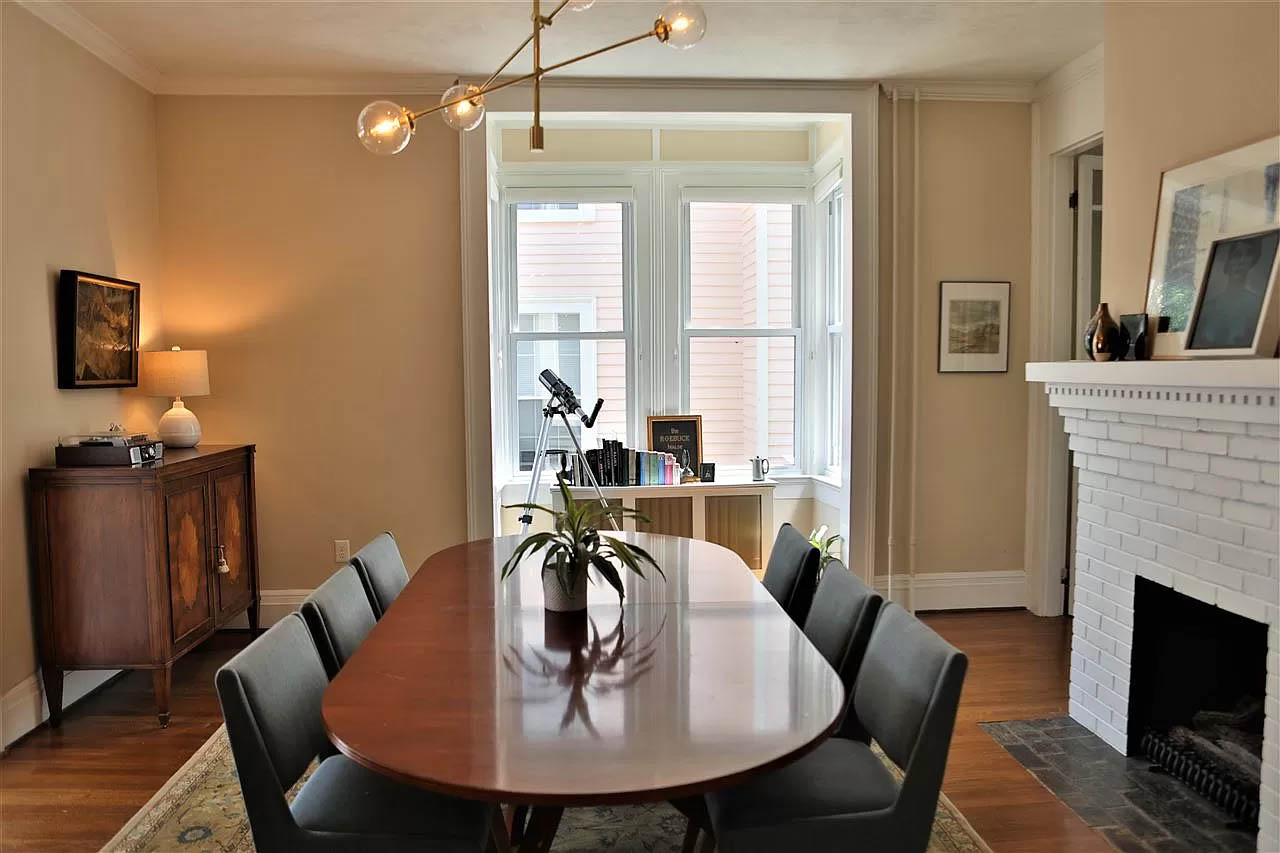 cotw take me to church st dining area with bay window nook
