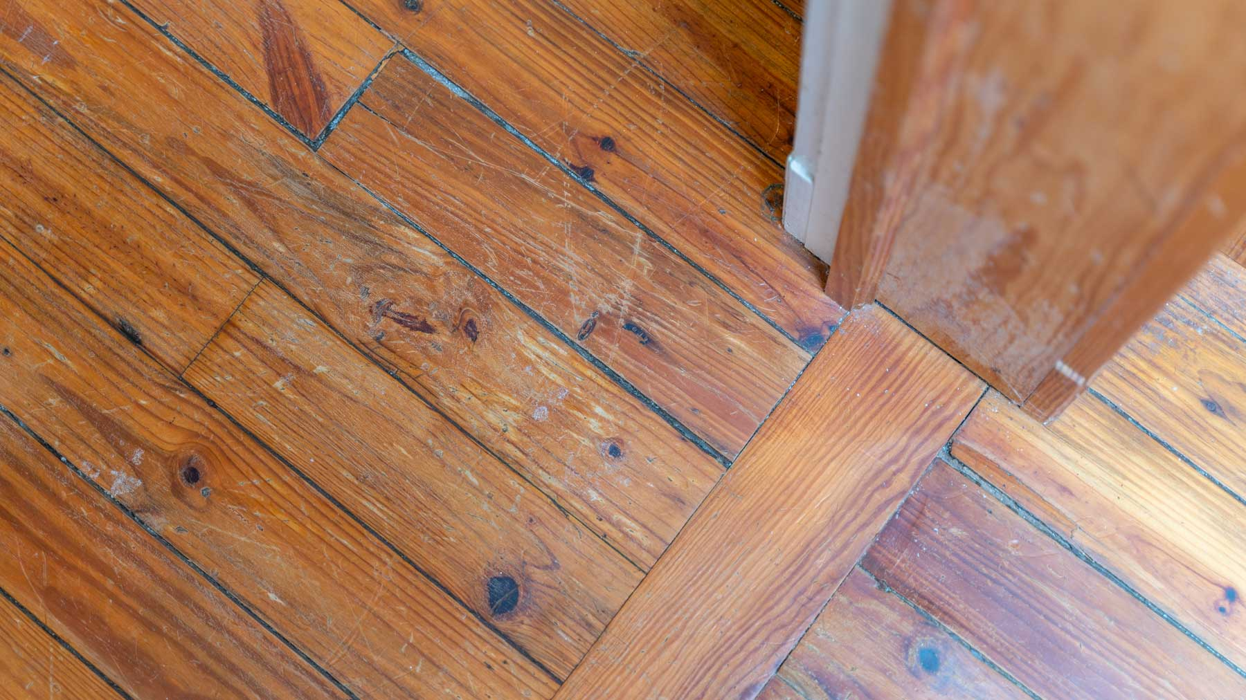 Riverfront retreat heart pine flooring