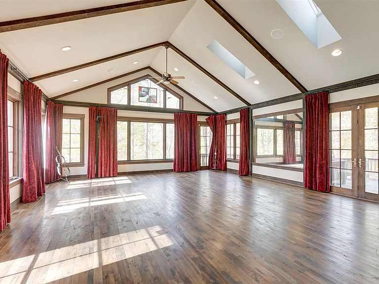 cotw modern antique great room with skylights