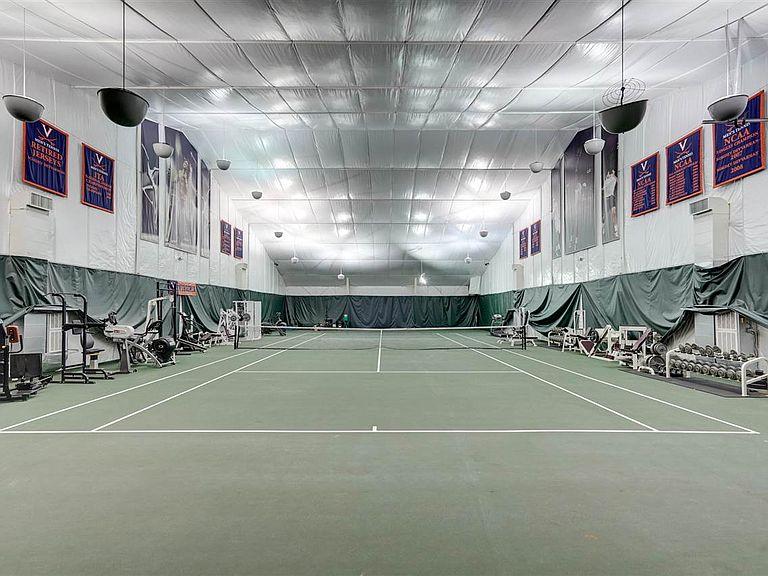 cotw modern antique tennis court