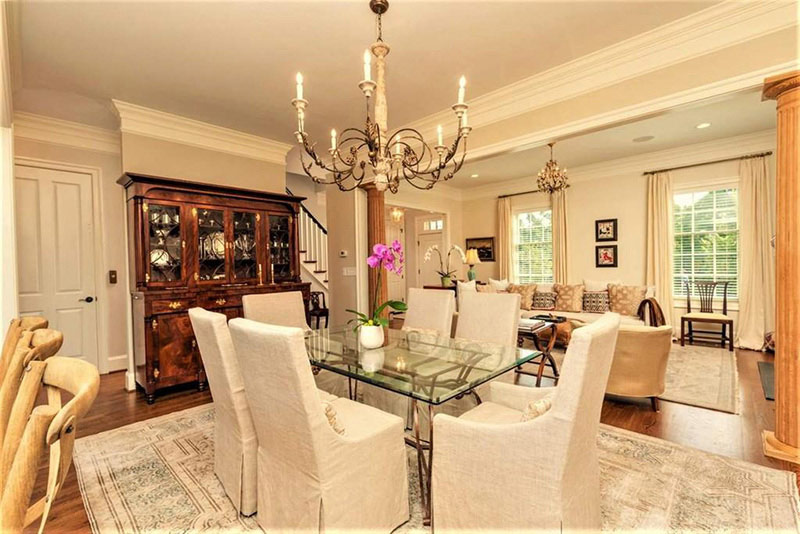 cotw top of the world formal dining area