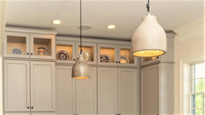 cotw top of the world kitchen pendant lights and lighted upper cabinets