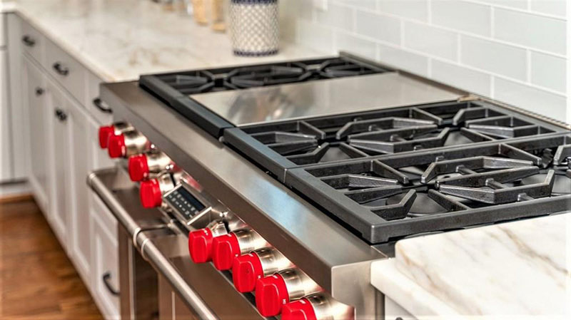 cotw top of the world kitchen viking stove
