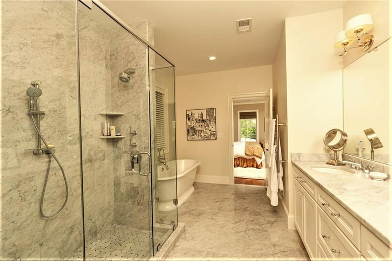 cotw top of the world master bath with marble and glass shower