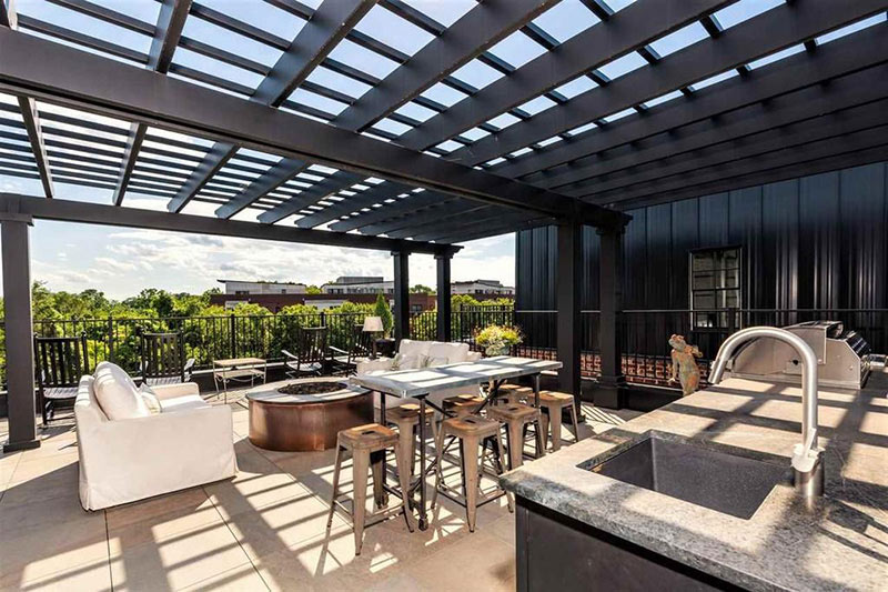 cotw top of the world rooftop dining and kitchen