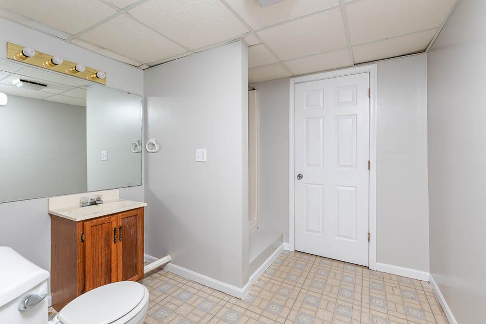 bathroom 3 in affordable brick ranch