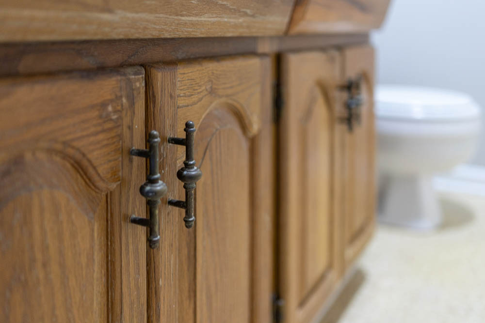 bathroom double vanity cabinet