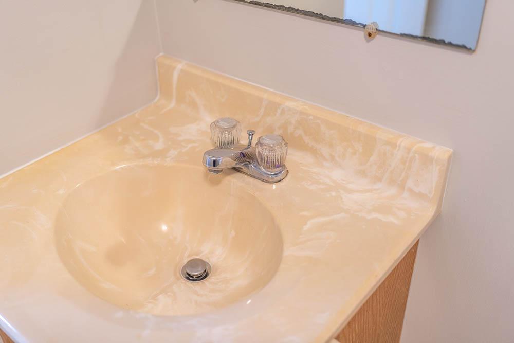 bathroom three vanity