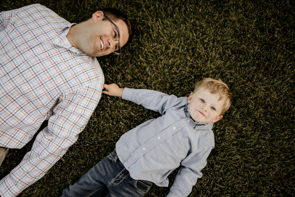 millpond photography father and son on the grass